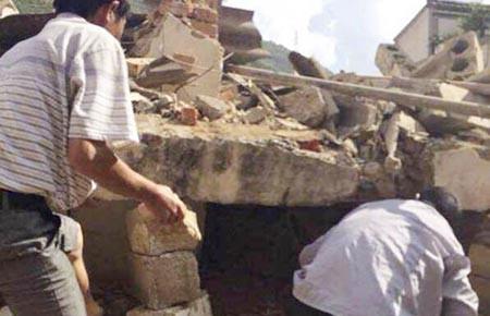 381 người chết trong động đất, Trung Quốc dồn lực tìm người còn mất tích