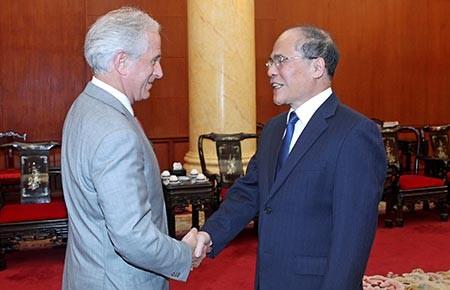 Đẩy mạnh hợp tác giữa hai Quốc hội Việt Nam - Hoa Kỳ