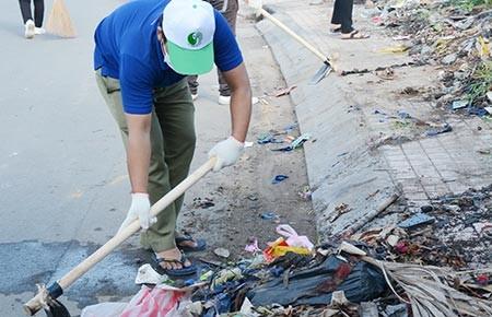 Sẵn sàng cho chiến dịch Làm cho thế giới sạch hơn