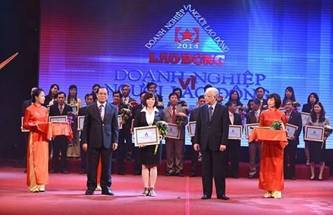 VietinBank đạt danh hiệu Doanh nghiệp vì người lao động