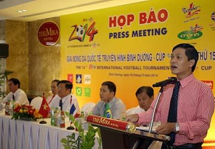 BTV Cup 2014 với ẩn số khách mời từ Brazil và Myanmar