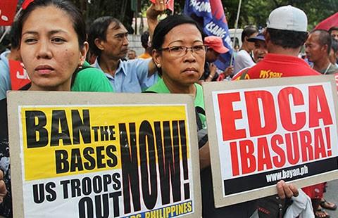 Philippines-Mỹ: Ký hợp tác quốc phòng không phải dễ!
