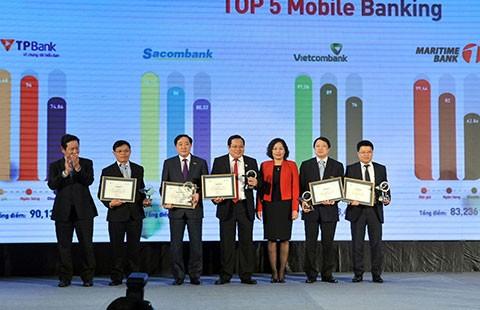 VietinBank đoạt giải Mobile Banking và ngân hàng điện tử của My Ebank 2014