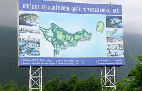 Dừng dự án nước ngoài ở Hải Vân