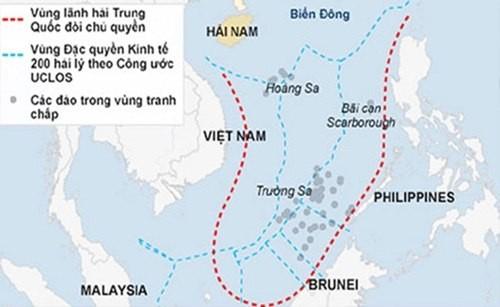 Bộ Ngoại giao Mỹ công bố báo cáo về đường chín đoạn Trung Quốc