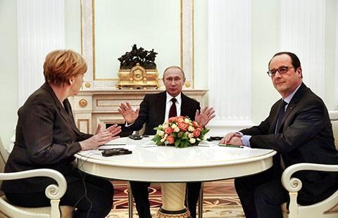 Nga, Pháp, Đức và kế hoạch hòa bình cho Ukraine