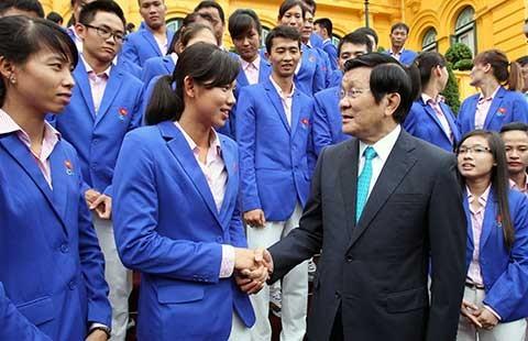 Chủ tịch nước: Thể thao Việt Nam cần vươn xa hơn tầm châu lục