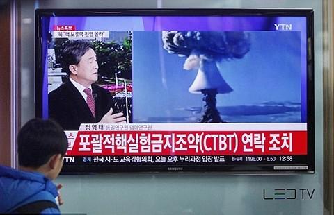 Triều Tiên thử bom, Hàn Quốc báo động
