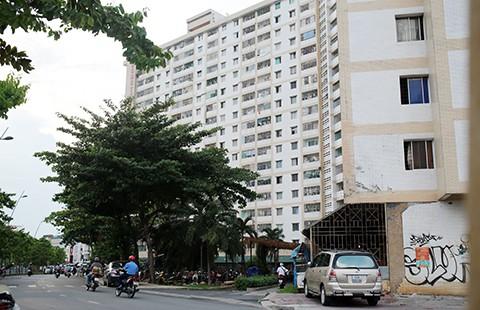 Sống sợ hãi trong chung cư cũ