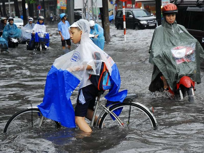 Chồng chéo chức năng, thành phố chống ngập chưa tốt