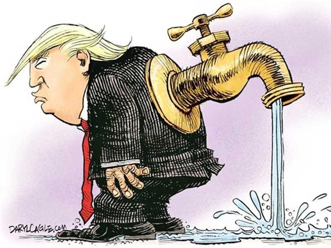 Trump 'vướng chân' Nga