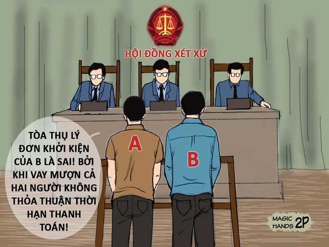 Đáp án kỳ 30: Vi bằng là chứng cứ để kiện đòi nợ