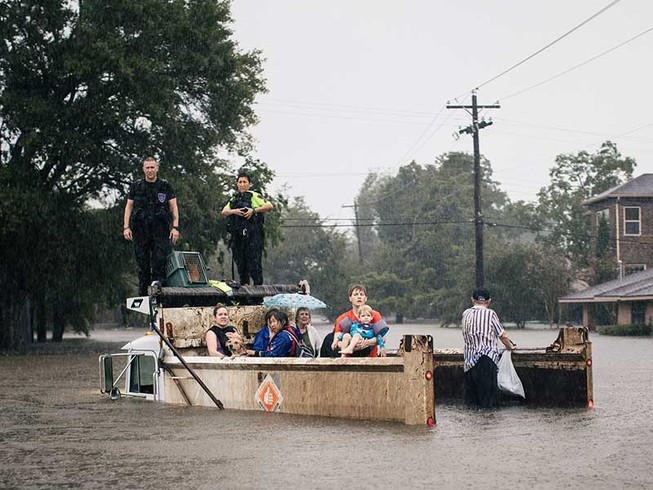 Lo sợ nạn hôi của sau siêu bão tại Mỹ