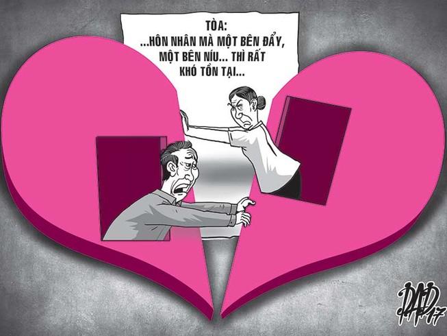Vợ chồng già tố nhau ngoại tình khi ly hôn