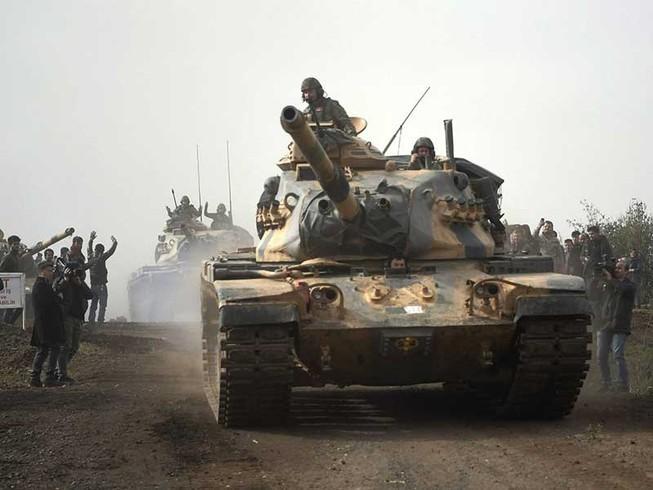Mỹ và Thổ Nhĩ Kỳ sẽ đối đầu tại Syria