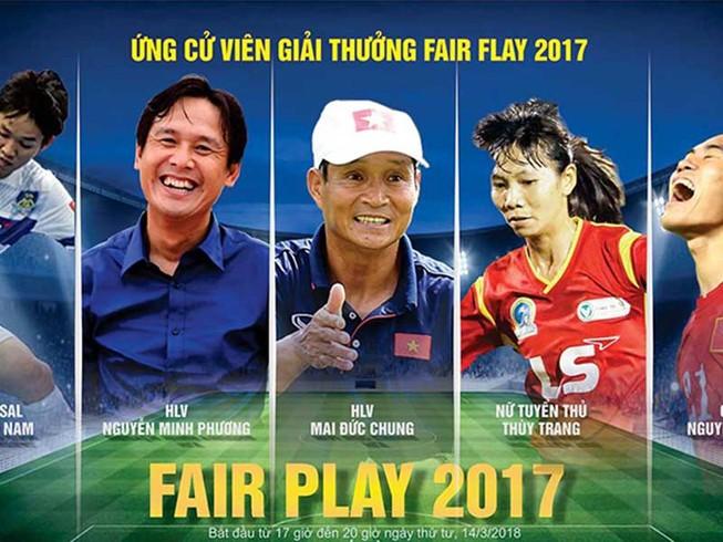 Ai đoạt ngôi cao nhất Fair Play 2017?
