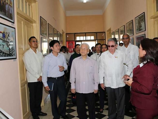 Tổng Bí thư kết thúc tốt đẹp chuyến thăm Pháp và Cuba