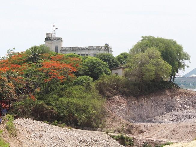 Cho thuê đất khu di tích lầu Bảo Đại giá bèo