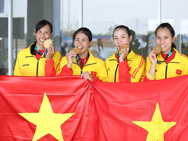 Cô gái phu hồ thành nhà vô địch Asiad