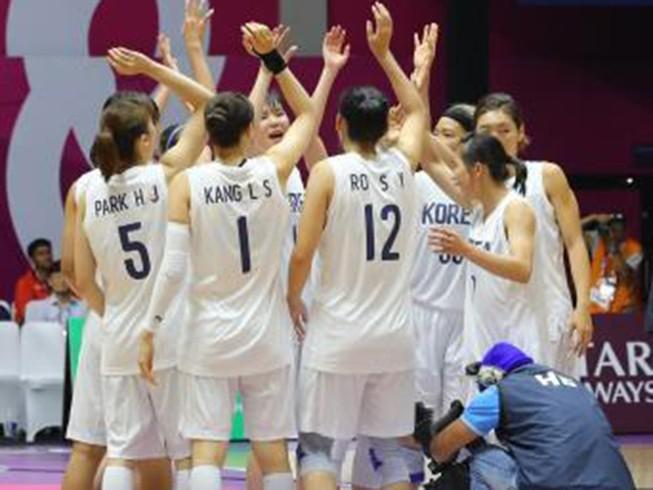 Ấn tượng với đội bóng rổ nữ liên Triều vào chung kết