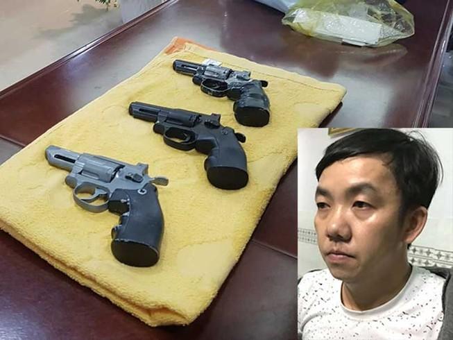 Nghi can cầm súng, lựu đạn cướp ngân hàng ở Tiền Giang