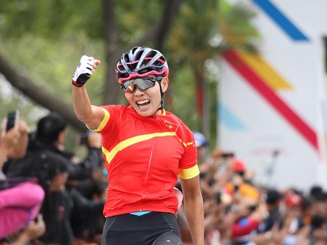 Nguyễn Thị Thật tranh tài giải vô địch thế giới