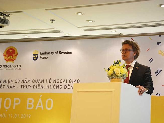 Thụy Điển luôn là người bạn và là đối tác của Việt Nam
