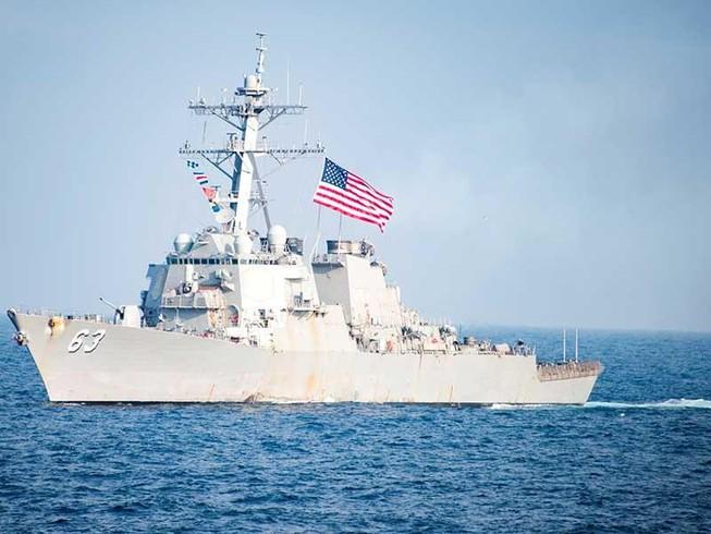 Tàu Mỹ qua eo biển Đài Loan, khiêu khích Trung Quốc