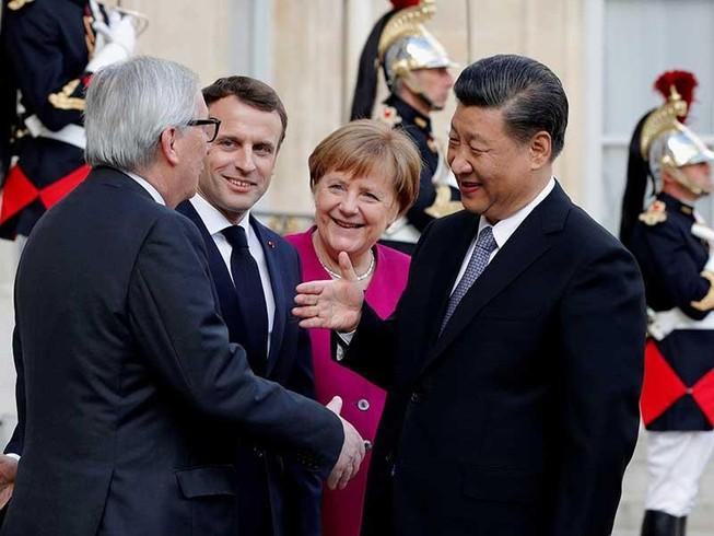 Trung Quốc 'ngư ông đắc lợi' ở châu Âu