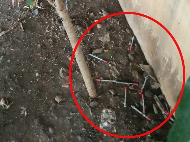 Tụ điểm chích ma túy dưới gầm cầu trung tâm TP.HCM