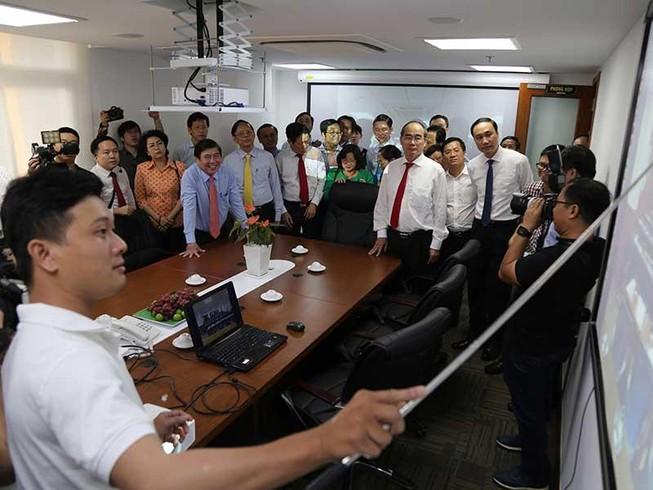 Trung tâm báo chí TP.HCM đi vào hoạt động