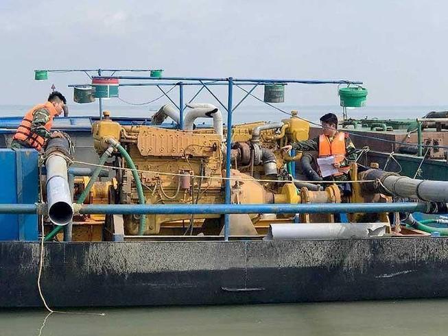 Ngăn ngừa tình trạng khai thác cát trái phép ở Cần Giờ