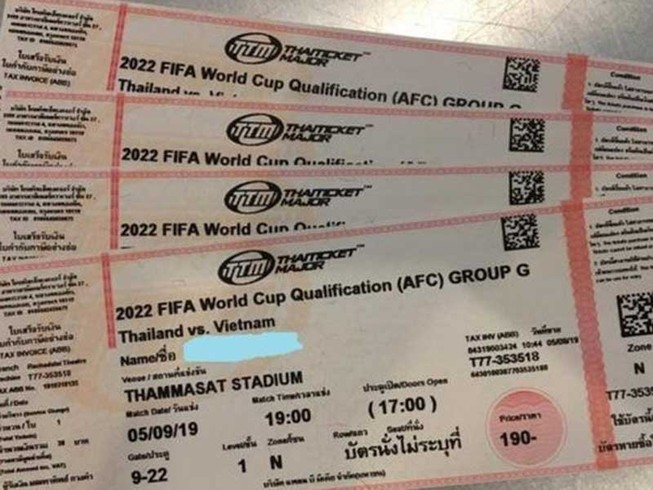 Một kênh, một cửa mua vé xem đội tuyển Việt Nam