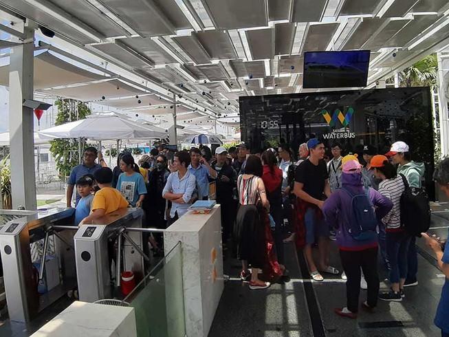 Buýt đường sông ở TP.HCM thu hút 245.000 lượt khách