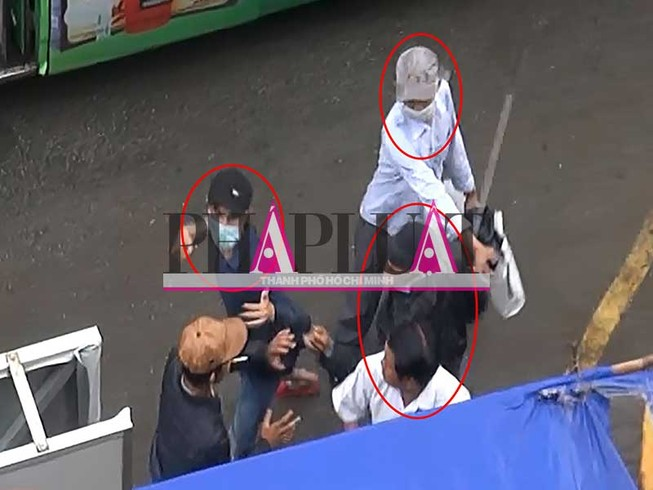 Băng nhóm ngang nhiên móc túi, đánh người ở Suối Tiên