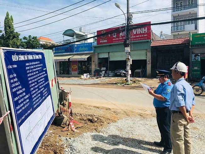 Xử phạt tại 3 gói thầu thi công dự án đường Tô Ký