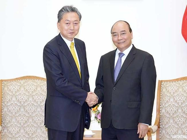Thủ tướng tiếp viện trưởng Viện Nghiên cứu Đông Á