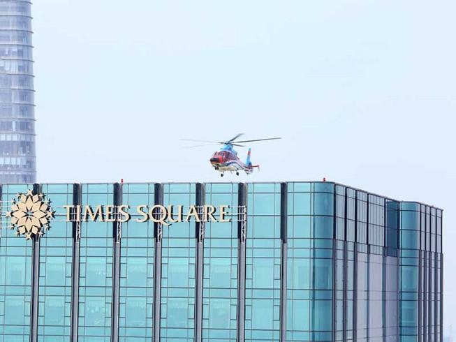 Khuyến khích làm bãi đáp trực thăng ở tòa nhà cao trên 150 m