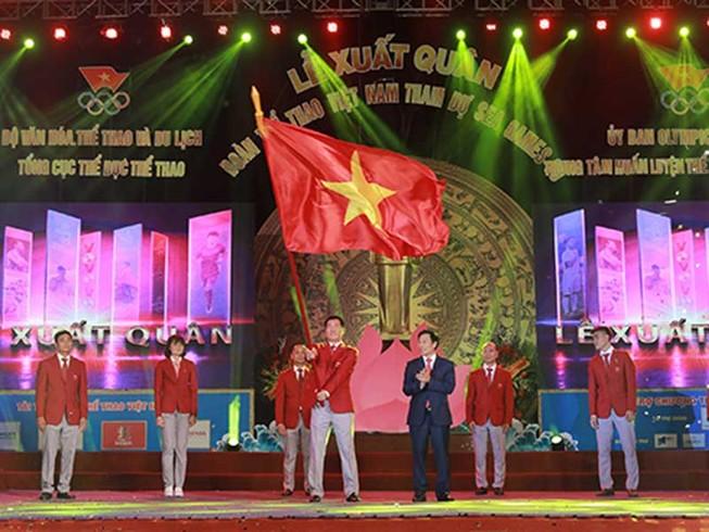 Chủ nhà Philippines nhận ngọn lửa SEA Games