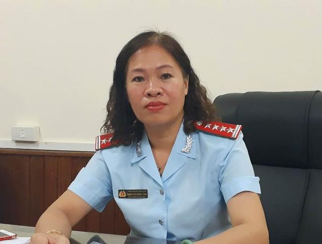 Bà Đàm Thị Minh Thu
