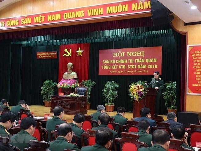 Triển khai có trọng điểm công tác chính trị trong quân đội