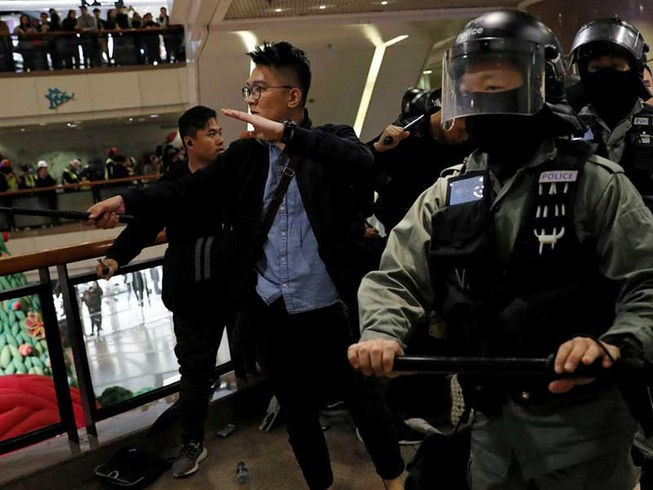Hong Kong đón năm mới 2020 ra sao?