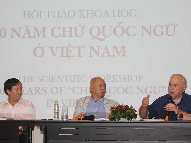 100 năm chữ Quốc ngữ: Sự lựa chọn của dân tộc Việt