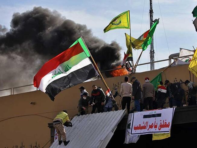 Mỹ bị Iran nhấn chìm vào vòng xoáy Trung Đông