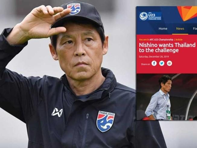 Khai mạc giải U-23 châu Á: Thầy trò HLV Nishino dễ sụp hầm!