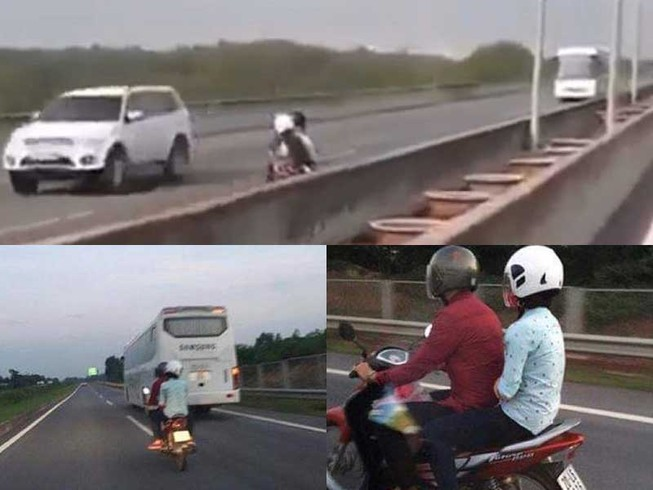 Xe máy đi vào cao tốc: Đừng đổ thừa Google Map