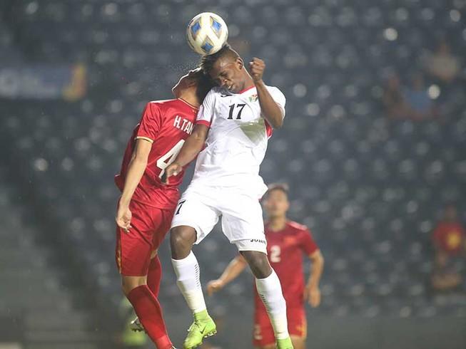 U-23 VN-U-23 Jordan (0-0): Thầy trò ông Park rơi vào thế khó