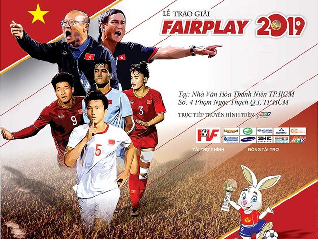 Hoãn ngày tổ chức gala trao giải Fair Play 2019