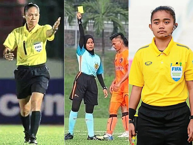 Malaysia đưa trọng tài nữ điều hành giải M-League