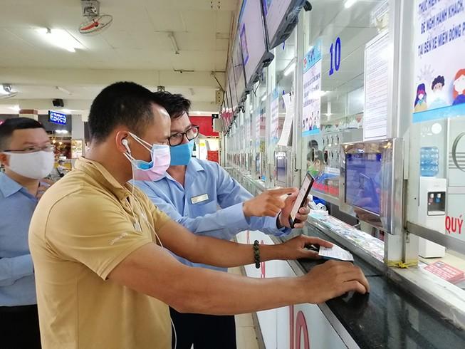 Từ chối phục vụ DN vận tải không khai báo y tế điện tử